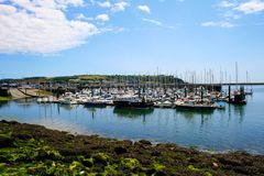 Plymouth harbour Stock Photo