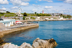 Plymouth Hoe Stock Image