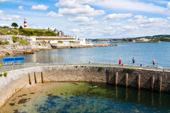 Plymouth Hoe Royalty Free Stock Photography