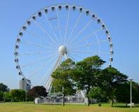 Plymouth Hoe, Devon, UK. The Big wheel, Plymouth Hoe, Devon, UK Royalty Free Stock Images