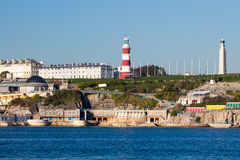 Plymouth Hoe from Mount Batten Royalty Free Stock Images