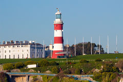 Plymouth Hoe from Mount Batten Royalty Free Stock Photography