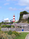 Plymouth Hoe, Plymouth, Devon. Royalty Free Stock Images