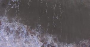 Waves on English sea, UK stock footage