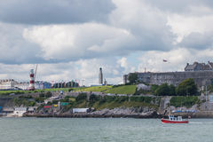 Plymouth Hoe Royalty Free Stock Photos