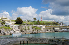 Plymouth Hoe Waterfront Stock Image