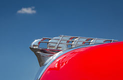 1950 Plymouth Hood Ornament stock image