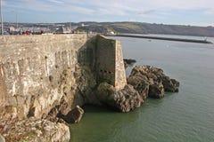 Plymouth-Küste lizenzfreie stockfotografie