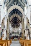 Plymouth katedry Nave Obrazy Royalty Free