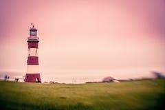 Plymouth-Leuchtturm Stockfoto