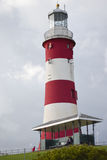 Plymouth-lighouse im Sommer Lizenzfreies Stockbild
