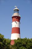 Plymouth Lighthouse. The Plymouth Lighthouse royalty free stock photo