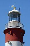 Plymouth Lighthouse. The lighthouse at Plymouth stock photography