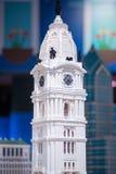PLYMOUTH MÖTE, PA - APRIL 6: Storslagen öppning av den Legoland upptäcktmitten Philadelphia, PA på April 6, 2017 Royaltyfri Fotografi