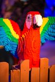 PLYMOUTH MÖTE, PA - APRIL 6: Storslagen öppning av den Legoland upptäcktmitten Philadelphia, PA på April 6, 2017 Arkivfoton