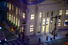 PLYMOUTH MÖTE, PA - APRIL 6: Storslagen öppning av den Legoland upptäcktmitten Philadelphia, PA på April 6, 2017 Arkivbilder