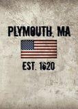 Plymouth, MA stockfotografie