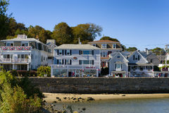 Plymouth Massachusetts on Cape Cod Stock Photo