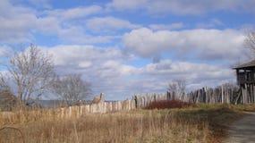 Plymouth-Plantage während der Danksagung Stockfotografie