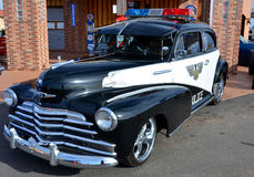 1947 Plymouth police car Royalty Free Stock Image