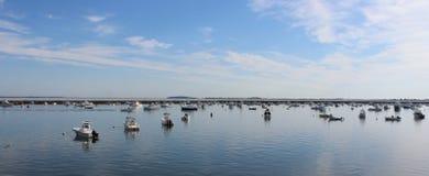 Plymouth, porto do miliampère foto de stock