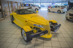 Plymouth prowler Royalty Free Stock Photo