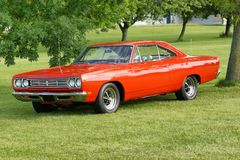 Plymouth road runner. Picture of the plymouth road runner stock photography
