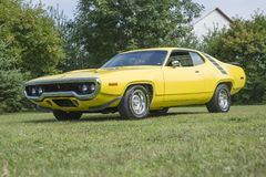 Plymouth road runner. Picture of vintage plymouth road runner stock photos