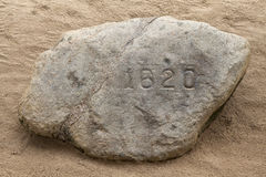 Plymouth Rock Royalty Free Stock Photo