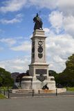 Plymouth sjö- minnesmärke Arkivbilder