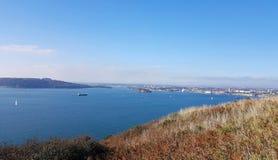 Plymouth Sound , Devon, Uk stock photos