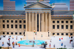 PLYMOUTH spotkanie, PA - KWIECIEŃ 6: Uroczysty otwarcie Legoland odkrycia centrum Filadelfia, PA na Kwietniu 6, 2017 Zdjęcia Stock
