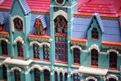 PLYMOUTH spotkanie, PA - KWIECIEŃ 6: Uroczysty otwarcie Legoland odkrycia centrum Filadelfia, PA na Kwietniu 6, 2017 Obraz Royalty Free