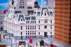 PLYMOUTH spotkanie, PA - KWIECIEŃ 6: Uroczysty otwarcie Legoland odkrycia centrum Filadelfia, PA na Kwietniu 6, 2017 Obrazy Royalty Free