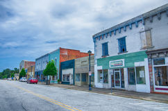 Plymouth town north carolina street scenes royalty free stock image
