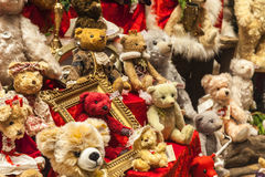 Plysch uthärdar souvenir Royaltyfria Foton