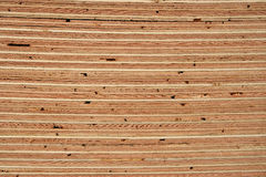 Plywood. A close up of a stack of plywood sheets royalty free stock photography