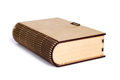 Plywood book-box Stock Image
