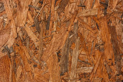 Plywood brown wooden texture background close up. Royalty Free Stock Photos
