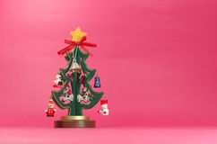 Plywood Christmas Tree Royalty Free Stock Images
