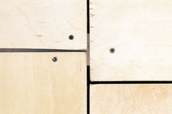 Plywood joint Stock Photos