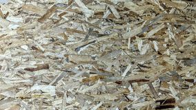 Plywood made with large wood chips. Can be used as background or wallpaper and for other possibility or to modify to your taste Royalty Free Stock Photography