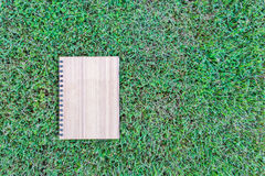 Plywood notebook Royalty Free Stock Photography