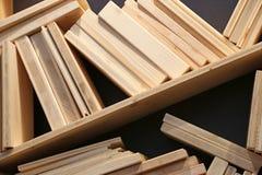 Plywood_samples Foto de Stock