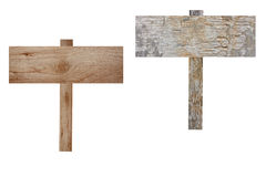 Plywood Signs. Stock Photography