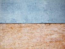 Plywood wall royalty free stock image