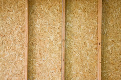 Plywood Wall Stock Image