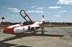 PLZ polaco Mielec TS-11 Iskra 615 DF de la fuerza aérea Imagenes de archivo