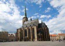 Plzen, Τσεχία Στοκ Φωτογραφίες
