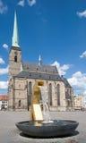 Plzen, Τσεχία Στοκ Φωτογραφία